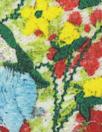 Italian 'garden delights' silk charmeuse