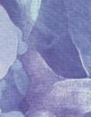 Italian 'abstract blues' silk satin face chiffon