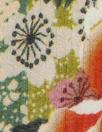 Italian decoflora crinkle silk/viscose woven