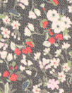 NY designer textured silk sheer - little floral
