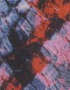 NY designer 'reptile ombre' silk georgette