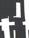 NY designer edgy graphic silk twill - black/cream