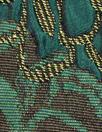 Italian dimensional floral brocade - shades of green