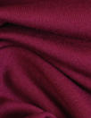 cranberry OEKOTEX viscose/spandex 4-way jersey