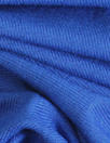 turkish blue OEKOTEX viscose/spandex 4-way jersey
