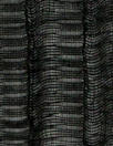 French black crinkle sheer with lurex sparkle