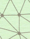 Dutch 'geodesic' bio-cotton knit - mint/graphite