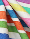 Dutch digital 'candy stripe 3' knit Oeko-Tex certified