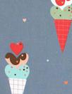 Dutch Oeko-Tex cotton poplin - yummy treats