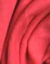 Dutch 220 gms cotton/lycra knit - hot coral