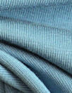 Dutch 220 gms cotton/lycra knit - dusty blue