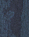 NY designer sapphire/midnight abstract stretch brocade