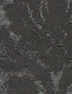 CA designer black on black medallion stretch brocade