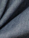 organic cotton/spandex soft blue stretch denim 1 yard