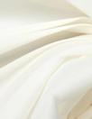 Italian poly/silk/elastane stretch organza - ivory