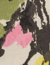 Italian printed stretch sateen rainwear - pink