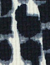Italian waffle-textured stretch woven - cellular graphic .75 yds
