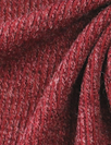 tweedy ribbed sweater knit - bordeaux/mauve
