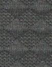 NY designer diamond matelasse' knit - black