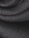 luxury sweatshirt knit - black/fleece