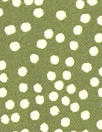 printed drapey rayon twill woven - olive dot