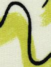 limeade graffiti bamboo/cotton Oeko-Tex French terry knit