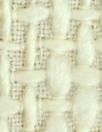 Italian basketweave texture wool coating - vanilla