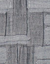 NY designer pewter basketweave texture jacquard knit
