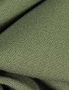 Italian textured wool stretch twill - loden 2.5 yd