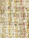 'Chanel tweed' sparkly boucle' - ivory/blush