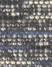 blue/black/ivory 2-ply tweedy sweater knit