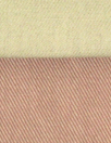 NY designer reversible cotton twill - clay/desert sand 1.125 yds