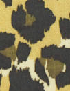 Italian viscose woven - earthy animal print