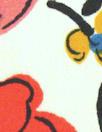 Italian viscose crepe woven - fleurs heureuses