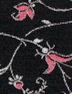 German viscose crepe woven - blooming vines