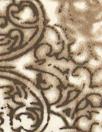 French mocha lattice work viscose shirting