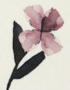 Italian watercolor flowers viscose woven