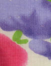 CA designer viscose/silk blend voile - painted flowers