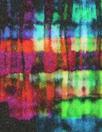 Italian viscose crepe woven - prism nocturne 1.25 yds
