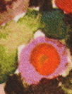 field of flowers viscose crepe Oeko-Tex certified