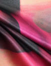 Italian viscose/silk - abstracted shapes