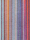 Italian vertical southwest stripe viscose/silk satin face