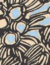 3.1 Phi11ip Lim tropics silk crepe - blue/black
