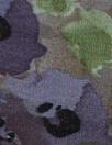 NY designer eggplant/purple floral viscose/nylon woven