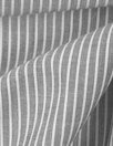 Italian yarn-dye stripe linen/cotton voile