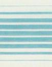 Italian silk/cotton yarn-dye aqua stripe voile