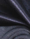 warm back coat lining - navy