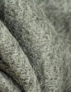 Rebecca Tayl0r furry wool blend suiting - medium gray 3 yd