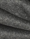 NY designer textured wool suiting - charcoal 2 yd