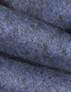 Italian cadet/charcoal brushed wool blend tweed